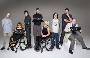 Publicidade da BBC sobre o programa