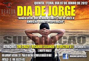 Cartaz do evento Dia de Jorge