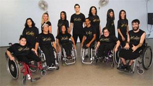 Membros da Cia Holos de Dança de Niterói/RJ