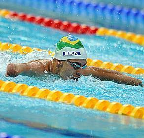 Daniel Dias ganhou nove medalhas em Pequim 2008