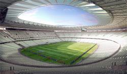 Visão interna de como deverá ficar o estádio Castelão