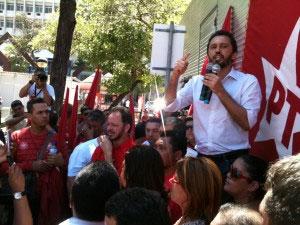 Candidato Elmano de Freitas (PT)