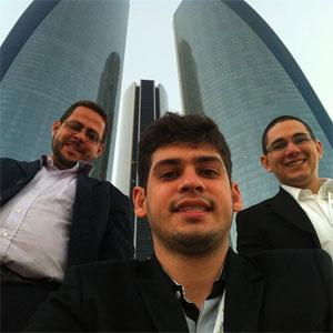 Ronaldo Tenório, Carlos Wanderlan e Thadeu Luz idealizaram o Hand Talk
