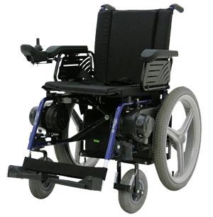 Cadeira de rodas motorizada oferece mais liberdade ao usuário
