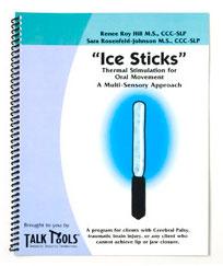 Os 'bastões de gelo' ajudam a desenvolver as habilidades necessárias em problemas de voz