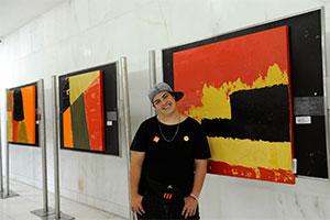 Lúcio Piantino já realizou seis exposições individuais de seus trabalhos em quatro anos de carreira